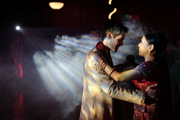 The first wedding dance Indian style