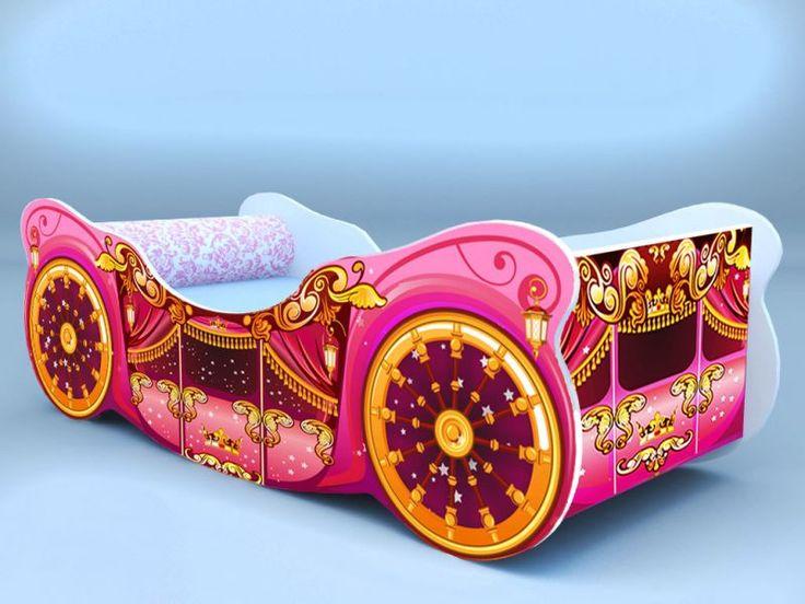 Детская кровать - карета люкс