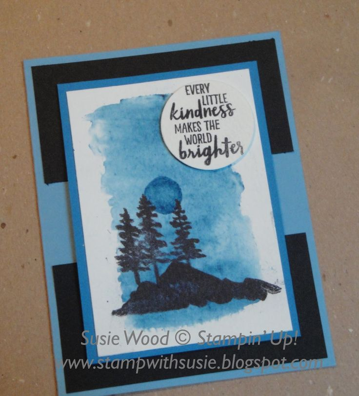 Oh how fun!! Oh how pretty!! I just LOVE this stamp set! And I just working with the Brusho ! Here is another card I made playing wit...