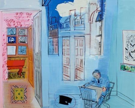 Lithographie - Raoul Dufy - L'atelier de Impasse Guelma
