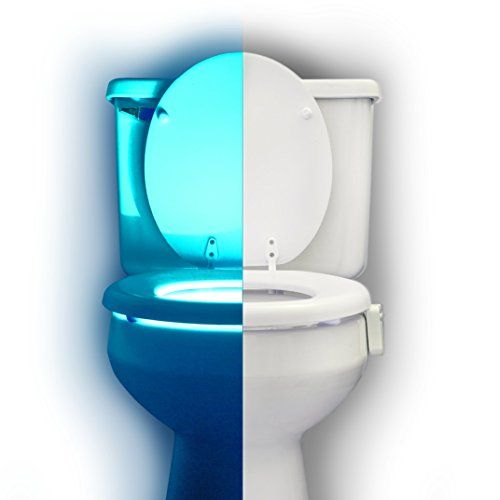 RainBowl Motion Sensor Toilet Night Light - Funny Unique Gift Idea for Him, Her, Men, Women & Birthday Kid - Cool New Fun Gadget, Best Gag Christmas Present - If you can have the COMFORT, FUN and SAFETY you need in your home, why miss out?Enjoy the benefits of adding RainBowl to your cart...It makes the life of you and your family easierBesides allowing parents to hot-wire their kids into actually loving to use the restroom, RainBowl also helps people ...