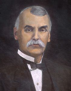 #10 ALSTON ELLIS, Ph.D., LL.D.,1847-1920 --  President of Ohio University, 1901-1920 --  Native of Kentucky and educated at Washington and Lee and Miami universities, Dr. Ellis came to the presidency at age 54 from the same office at the State Agricultural College at Fort Collins, Colorado. A nationally recognized leader in public school education and administration, his term saw an impressive advance in physical plant, with a dozen buildings being added, including Ellis Hall which was built…