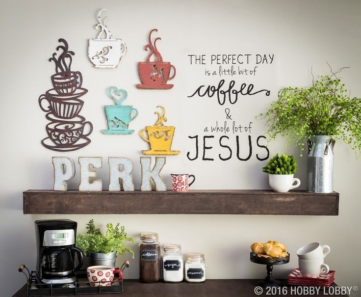 Image Result For Wine Decor Hobby Lobby Coffee Theme Kitchen Coffee Bar Home Coffee Wall Decor