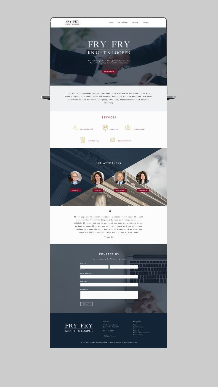 Lawyer Website Design For Attorney S Office Squarespace Website Design With Beautiful Scrollin Lawyer Website Design Website Design Lawyer Website Inspiration