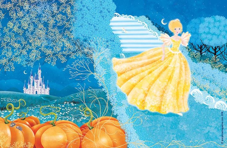 Our full fairytale cover for Storytime Issue 3! Cinderella illustration by Cathy Delanssay (http://cathydelanssay.daportfolio.com) ~ STORYTIMEMAGAZINE.COM