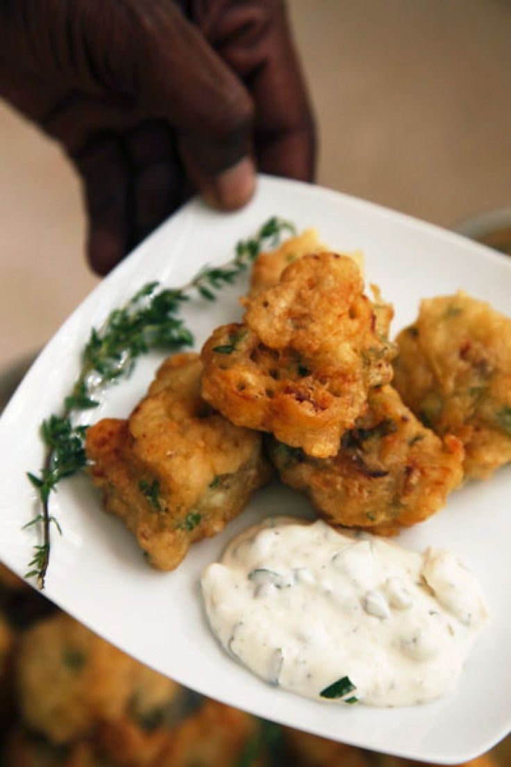 Stamp and Go   These roadside salt cod fritters are possibly named for ...