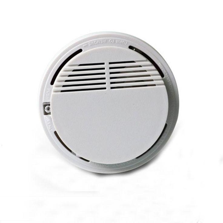 Sensor Detector de Humo De alta Sensibilidad Estable Fotoel & eacute; ctrico Fuego Detector de Humo Sistema de Seguridad párr el Ho