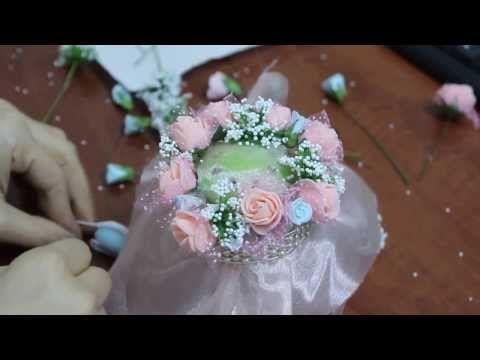 Kavanoz Magnolia ve Kavanoz Süsleme - YouTube