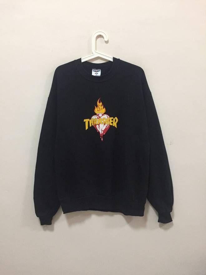 6c720b091d87 Thrasher Thrasher Vintage Sweatshirt Size US L   EU 52-54   3
