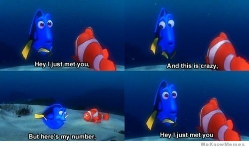 Hehe: Dory, With, Funny Stuff, Humor, Things, Disney, Finding Nemo