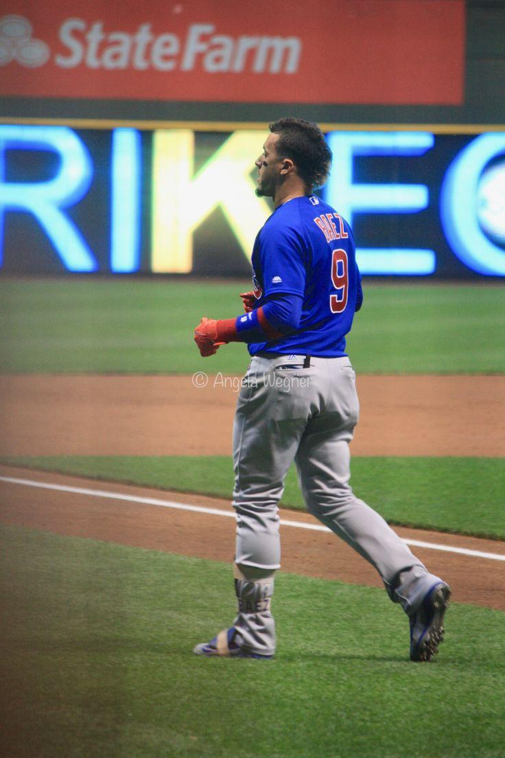 Javier Baez, #ElMago, Chicago Cubs Win 5-3! @ Miller Park, 9/21/17.