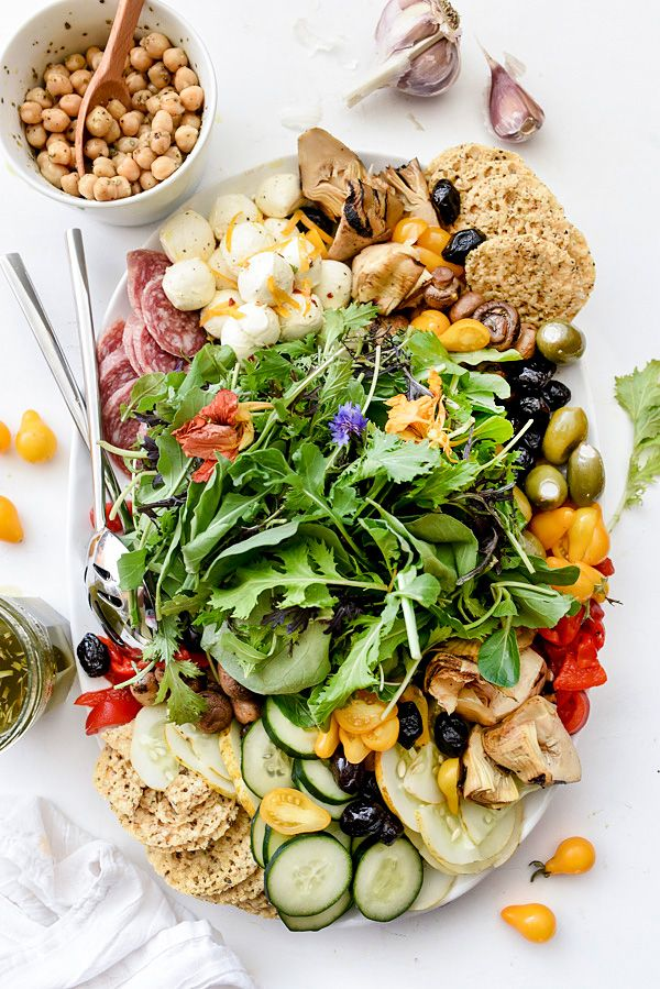 How to Create the Ultimate Italian Salad Platter