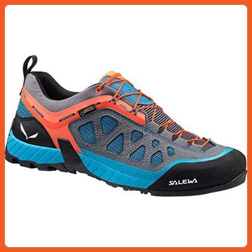Salewa Women's Firetail 3 GTX Tech Approach Shoe, Smoke/Iowa, 9.5 M US - Outdoor shoes for women (*Amazon Partner-Link)