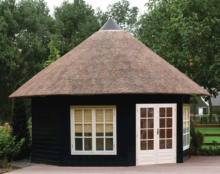 Achthoekig tuinhuisje / prieeltje Prima Grand Five van Lugarde