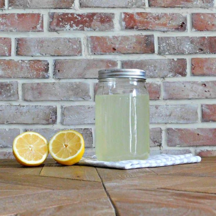 Homemade Bleach Alternative with Peroxide and Lemon