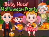 Join Baby Hazel and her friends as they celebrate Halloween Party. Play Baby Hazel Halloween Party on topbabygames.com at http://www.topbabygames.com/baby-hazel-halloween-party.html