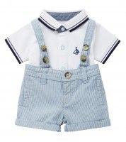 Braces Short & Polo Set, to download this press image please visit prshots.com/press #kids #mums #children#kidsfashion #fashion #trend #style