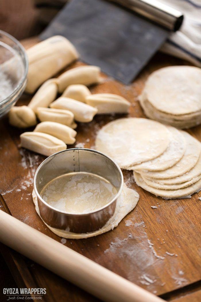 Homemade Gyoza Wrapper Recipe | Easy Japanese Recipes at JustOneCookbook.com