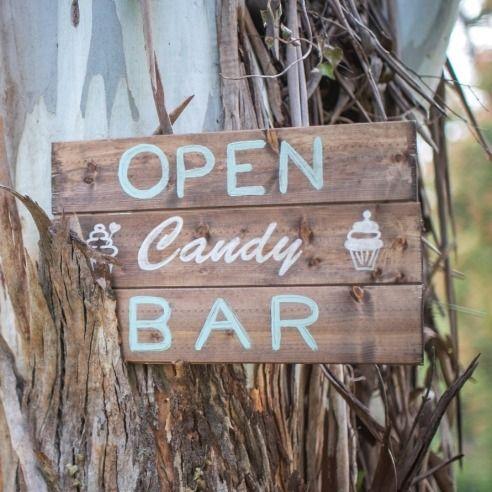 """Panneau mariage ou anniversaire pour candy bar """"open candy bar"""" : Accessoires de maison par save-your-deco"""