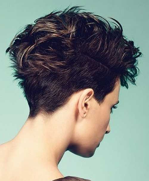 20 Best Short Brown Haircuts | http://www.short-haircut.com/20-best-short-brown-haircuts.html