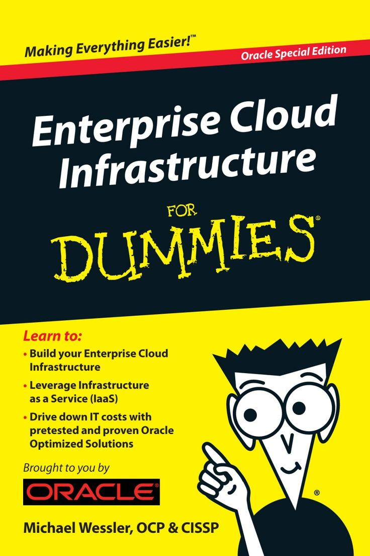 Enterprise Cloud Infrastructure for Dummies by Larry Zimbler via slideshare