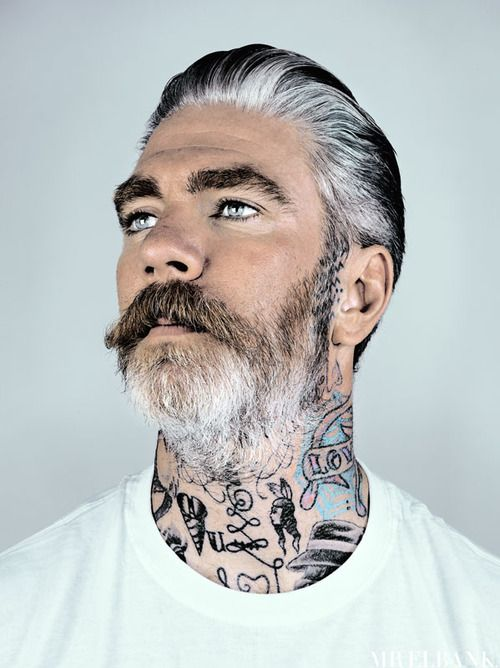 Miles better by mr elbank delicious faces pinterest for Silver fox tattoo