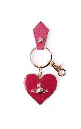 Vivienne Westwood Bags mirror heart keyring