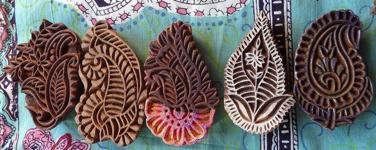 Indian wood-block printing