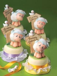 Pasteles Decorados | Corderitos de comunión | Utilisima.com