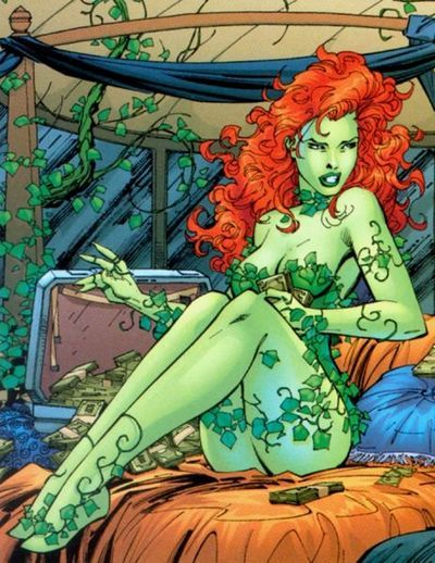 "Pamela Isley, a.k.a. Poison Ivy, one of Batman's deadliest villains falls squarely under the header of ""Love Interest"" rather than girlfriend."