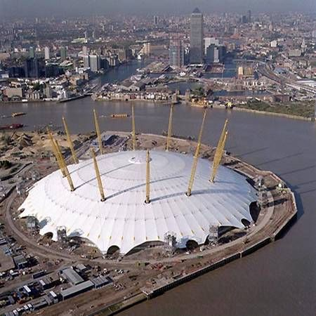 The O2. Millennium Dome.  London.