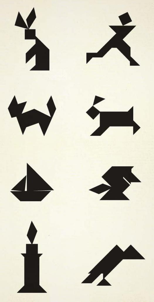 This is a picture of Remarkable Printable Tangram Patterns