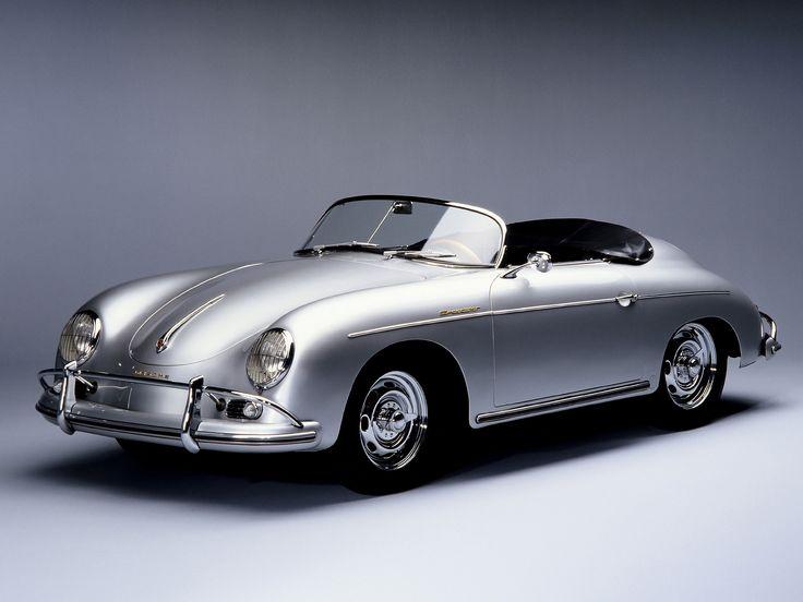 La Porsche 356 fut la première voiture de la marque allemande Porsche. Conçue par Ferry Porsche sur les bases mécaniques de la Volkswagen Coccinelle (par souci d'économie) et dessinée par Erw…