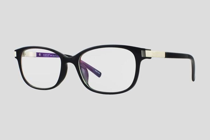 #Brillen van Reor. Dit is de Burlington (art. nr. F10.713UBL), complete bril vanaf € 29,90. #Montuur van zwart plastic. Verkrijgbaar in meerdere kleuren.