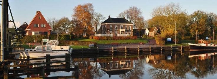 Café Hammingh. Onderweg tijdens de 2e etappe van ons b naar Groningen (niet Winsum dus maar gewoon wat verder). Prima gelegenheid tussendoor. Lekker koffie met Groninger koek.