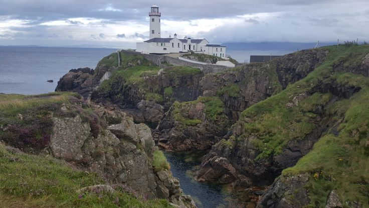 Fanad head lighthouse. Donegal