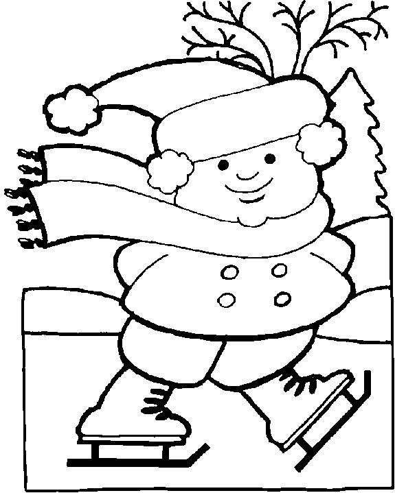 Free Printable Winter Coloring Pages For Kids Seasons Coloring