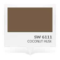 SW 6111 - Coconut Husk | Paint colors | Pinterest
