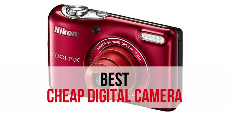 Reviews of the top 5 best cheap digital cameras as rated by RelevantRankings.com  Updated on 12/6/2016