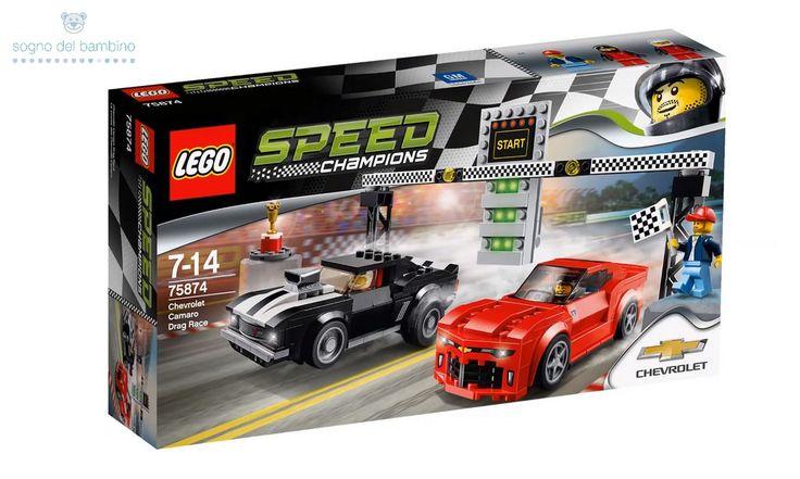 LEGO SPEED CHAMPIONS 75874 Chevrolet Camaro Drag Race #legoesclusivi  #legochamions