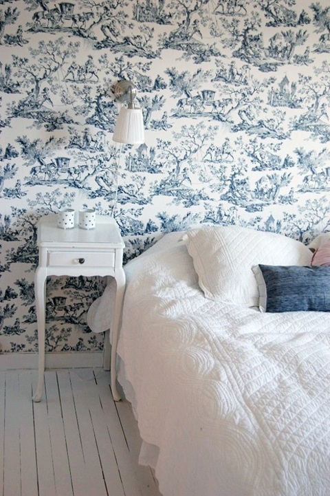 17 Best Images About Toile Bedrooms On Pinterest Pink