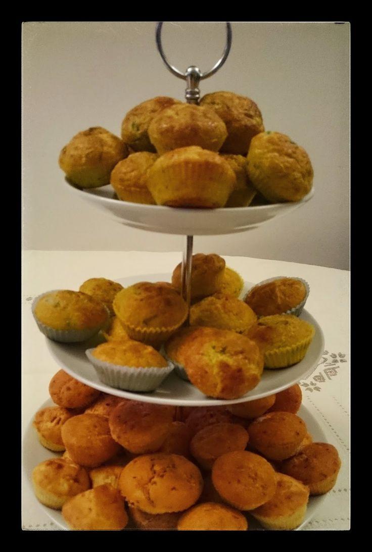 dererumcucina: Muffin salati agli asparagi e provola