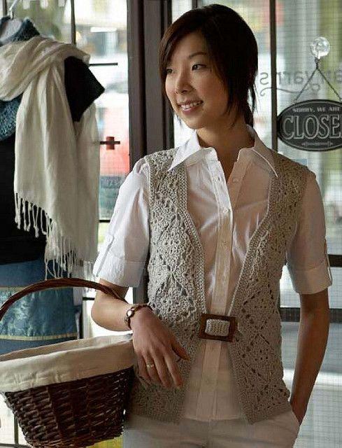 Ravelry: Gladiolus Vest pattern by Robyn Chachula