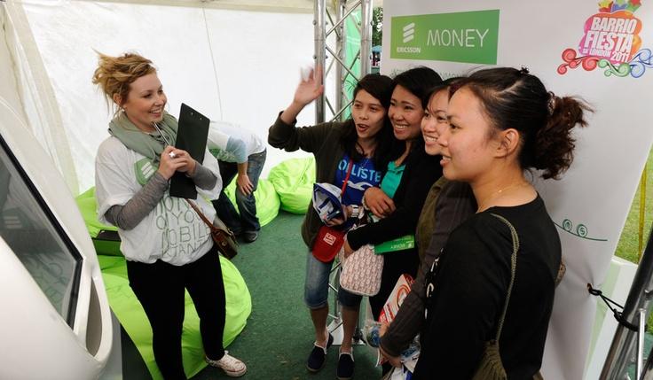 Launching Ericsson Money to Filipino Community - Ericsson Money sponsorship of Barrio Fiesta sa London (Threepipe)
