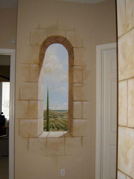 Storied Walls - Trompe L'oeil Murals Gallery