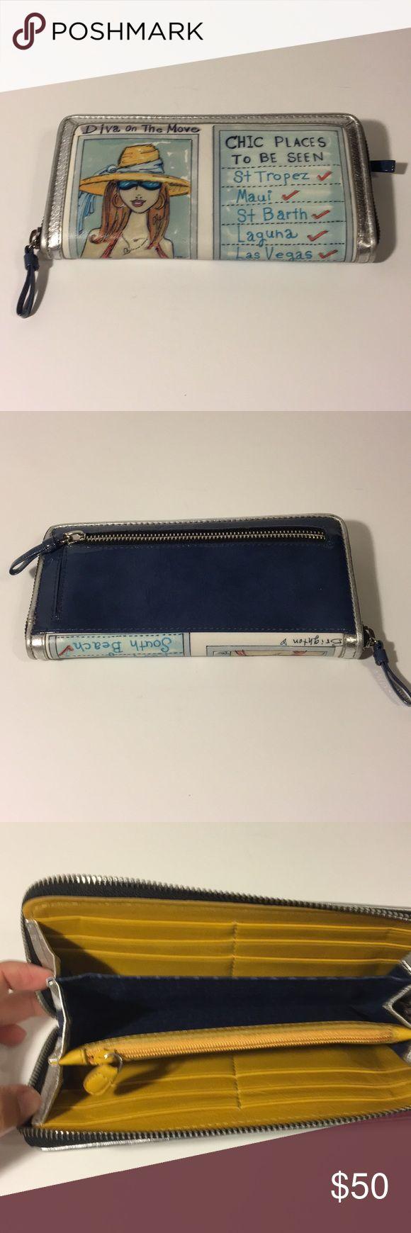 NWTO BRIGHTON WALLET Excellent condition cute Brighton leather wallet. Brighton Bags Wallets