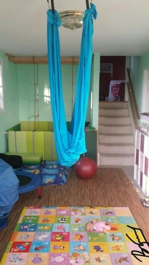 Best home sensory gym images on pinterest play rooms