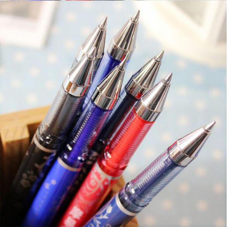 1pc Wipes Pen Magic Zero 0.5mm Warhead Neutral Pencils Student Stationery Pen