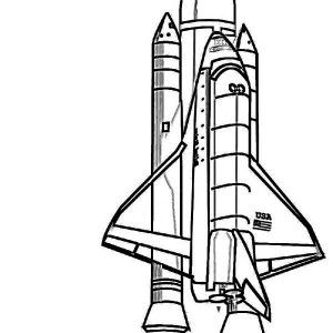 Rockets Ship Nasa Discovery Space Shuttle Coloring Page Nasa