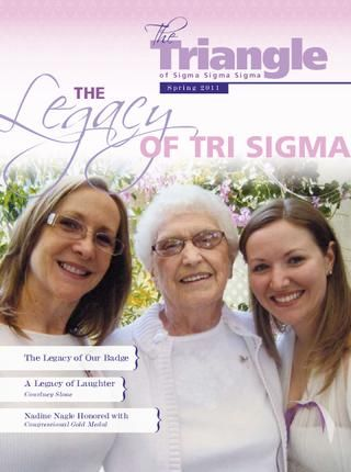 Spring 2011: The Legacy of Tri Sigma